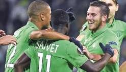 Saint-Etienne et Nice s'affirment en Europa League