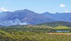 Trois hectares partis en fumée à Dumbéa