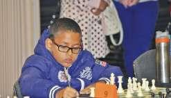 Arden Kaméo, petit prodige des échecs à Maré