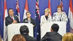 Australie et Indonésie, vers une union maritime