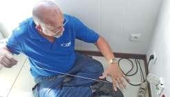 Le premier client raccordé à  la fibre optique cette semaine
