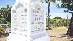 Les noms oubliés de ces poilus seront gravés dans le marbre