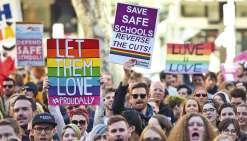 Mariage gay : le Sénat refuse le référendum