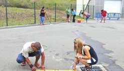 Une piste d'éducation routière se dessine à Teari