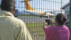 Le premier vol direct  Koné-Lifou a fait le plein