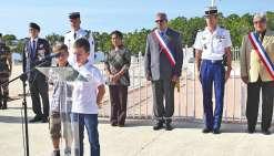 Un dépôt de gerbe à Boulari  commémore le 11-Novembre