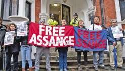 Julian Assange auditionné lundi