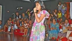 Des chanteurs de Wallis à la finale de karaoké