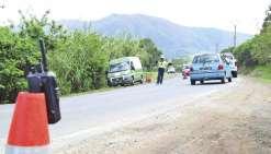 Deux routes en chantier dans le Sud