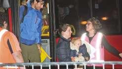 Les touristes piégés ont tous été évacués