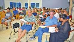 Les habitants des Hauts de Karikaté réunis en assemblée générale