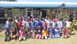 Les écoliers de Hnassé dans le Grand Nouméa