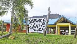 Touaourou solidaire  avec Houaïlou