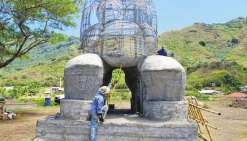 Le plus grand tiki de Polynésie à Nuku Hiva