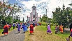 Maré a fêté le 150e anniversaire  de l'arrivée des catholiques sur l'île