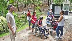 Le Parc plus accessible aux handicapés