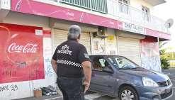 Le lendemain du braquage, un vigile était chargé de veiller sur le commerce et cela pendant plusieurs jours. Les malfaiteurs avaient dérobé de l'alcool, des cigarettes et la caisse enregistreuse.