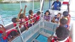 A la découverte des fonds  marins sans se mouiller
