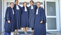 Cinq greffiers ont prêté serment au TPI