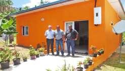 Une maison sociale  à la tribu de Qanono