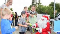 La féerie de Noël s'est installée  au Mont-Dore Sud