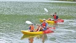 Découvrir des paysages fantastiques en kayak