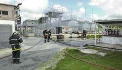 Alerte incendie à la centrale thermique de Waihmenë