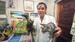« Dinosaure » collectionneur  aux doigts d'orfèvre