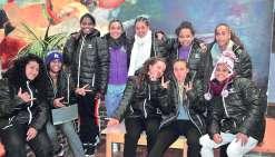 Les filles du pôle espoirs se jaugent en Métropole