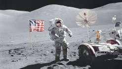 Le dernier homme sur la Lune