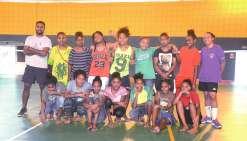 Les volleyeuses se sont retrouvées mardi pour un dernier entraînement avant le départ.