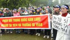 Manifestation anti-chinoise à Hanoï