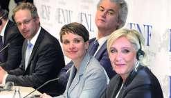 Congrès euphorique pour le FN et ses alliés