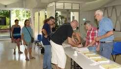 Participation timide des  Calédoniens au premier tour