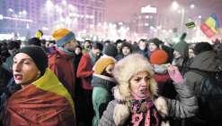 15 000 Roumains contre un projet de grâce