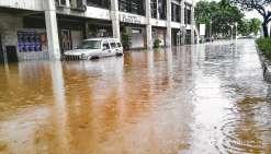 Tahiti et Moorea inondées