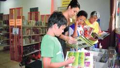 Les bibliothèques ont rouvert  leurs portes aux lecteurs
