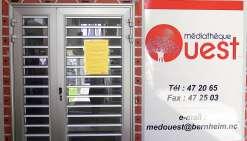 La salle de consultation de nouveau fermée