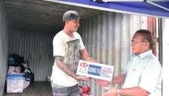 Un geste pour les sinistrés de Tahiti