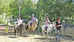 A cheval sur les vacances à l'Acno