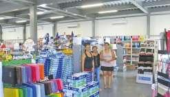 Nouvel espace commercial à Kataviti