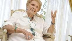 Henriette Pentecost, dans sa résidence du Rocher à la Voile, en août dernier, lors d'un entretien accordé aux Nouvelles.