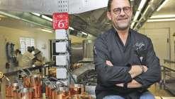 Michel Sarran en cuisine à Nouville