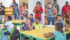 Le privé accueille ses premiers écoliers à Dumbéa-sur-Mer