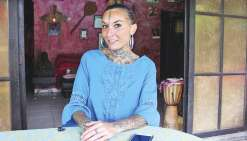 Une Tahitienne au concours Ink Girl