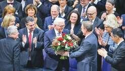 Le nouveau président s'appelle Steinmeier
