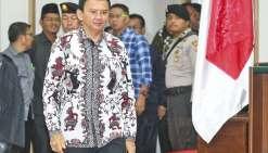 Jakarta : Ahok brigue un second mandat