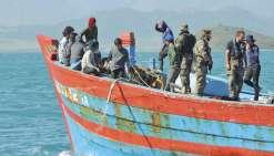 Les pêcheurs illégaux renvoyés au Vietnam