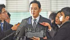 L'héritier de Samsung placé en détention provisoire