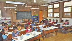 Des nouveautés à l'école  publique du village et à Hova-Le